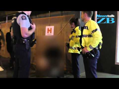 Chris Lynch's night with police officers
