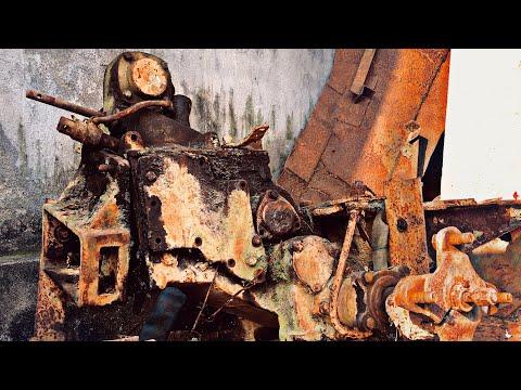 Restoration Ancient Tractor Gearboxes | Restore Torque Converter | Restore Transmission