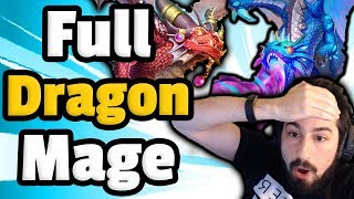 Fully Packin Dragon Mage - Hearthstone Descent Of Dragons