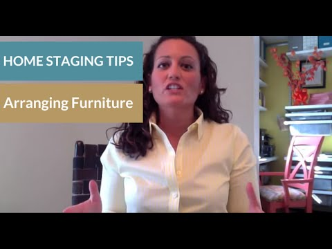 Home Staging Tips: Arranging Living Room and Bedroom Furniture