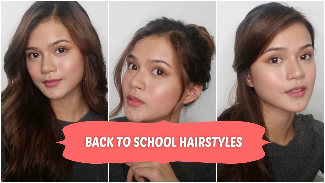 Back To School Hairstyles by Maris Racal