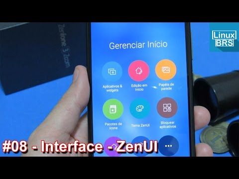 Asus Zenfone 3 Zoom - Interface ZenUI