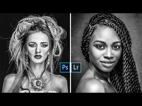 Strong Contrast Black & White Conversion in Lightroom and Photoshop With Free Presets