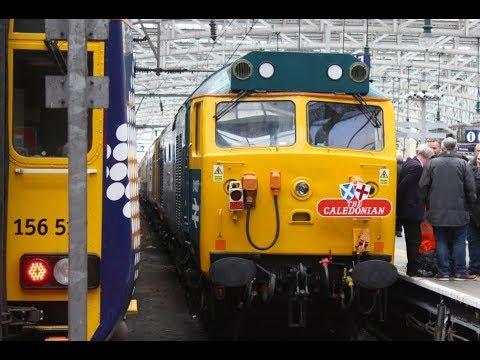 "50007 & 50049 on ""The Caledonian"" Railtour (1Z50/1Z52) @ Glasgow & Abington (07/10/17)"