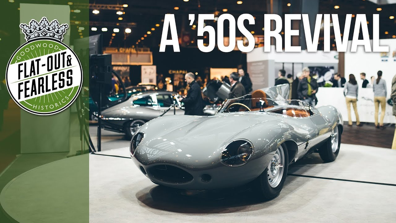 This Is Jaguaru0027s Brand New D Type