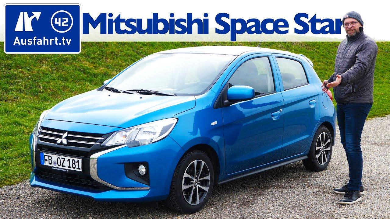 2020 Mitsubishi Space Star 1 0 Intro Edition Kaufberatung Test Deutsch Review Fahrbericht Youtube