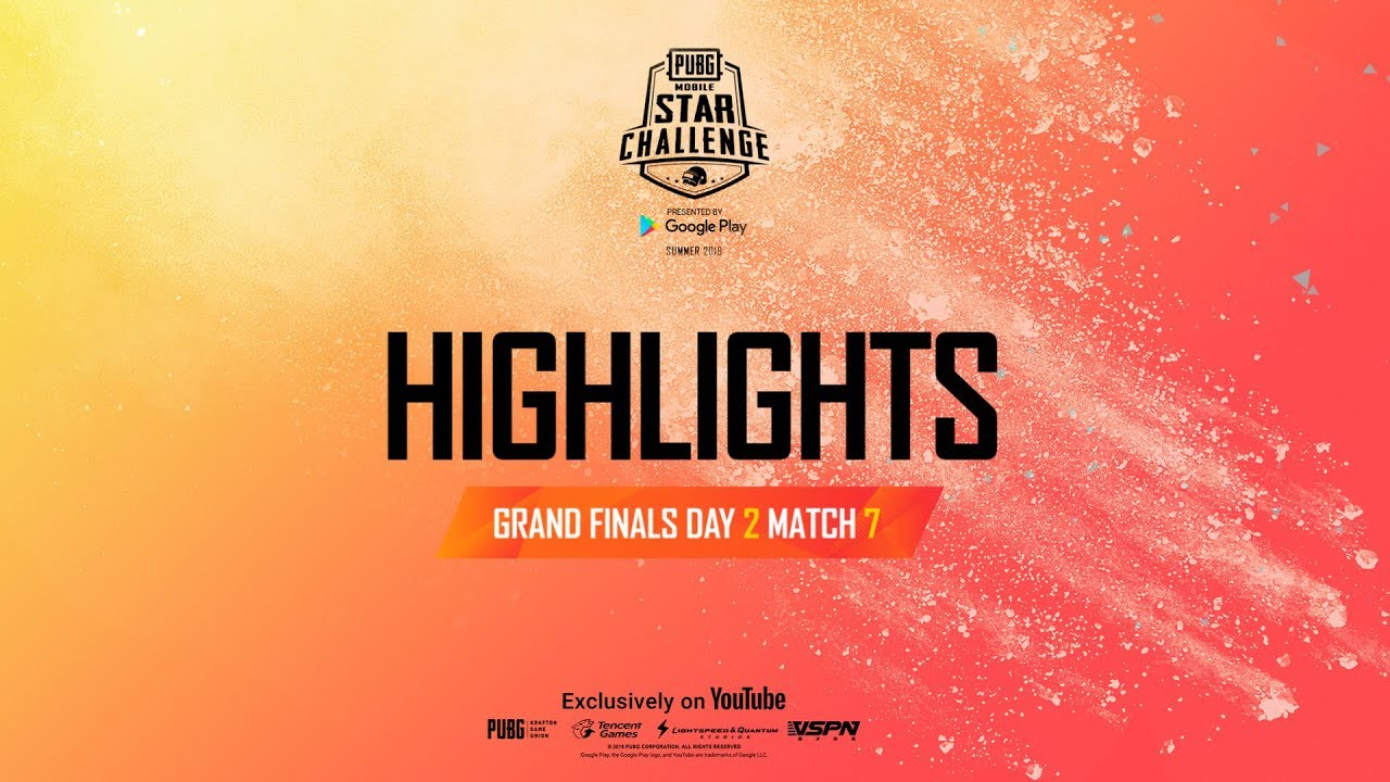 [Highlight] Grand Finals Day 2 Match 7 | PUBG MOBILE Star Challenge 2019