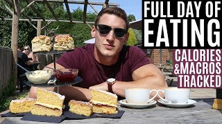 IIFYM Full Day of Eating **ALL CALORIES & MACROS TRACKED**