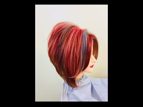 BOB SHORT LAYERED HAIRCUT TUTORIAL