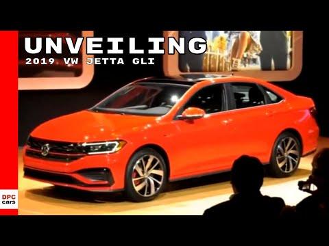 2019 VW Jetta GLI Unveiling