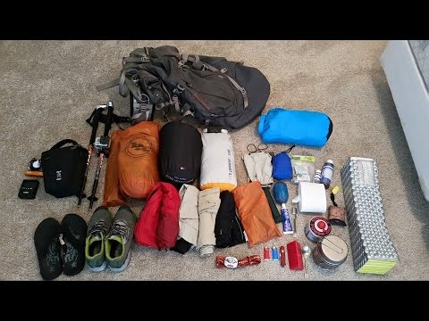 Post Appalachian Trail Thru Hike Gear List 2015