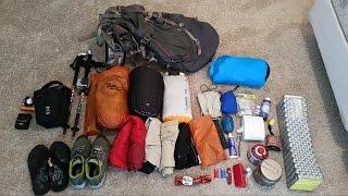 Post Appalachian Trail Thru Hike Gear List 2015