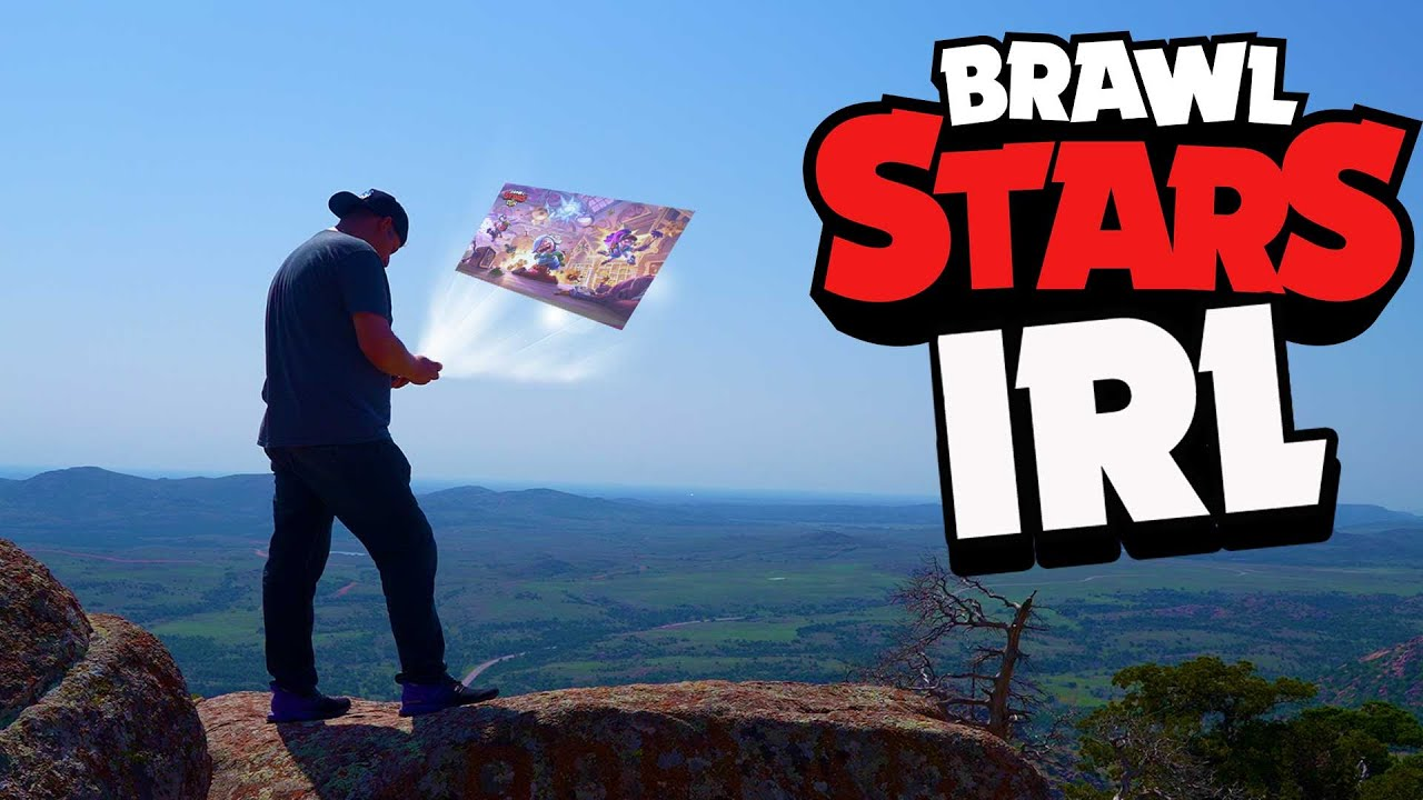 Brawl Stars At The Top Of A Mountain | Brawl, In Real Life