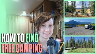 How To Find The Best Free Camping - Websites & Resources We Use