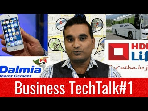 BuisnessTechTalk #1 iPhone Dual Sim, Android GPS Location Information, HDFC finance and Share Market