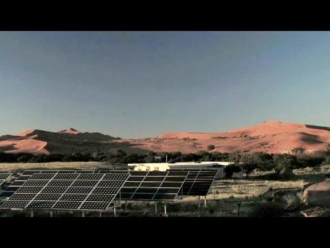 Namibia Champions Solar Smart Grid