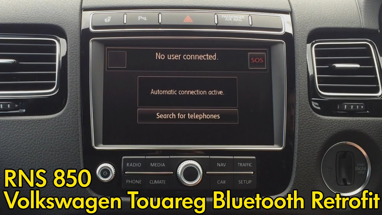 Volkswagen RNS 850 Bluetooth Retrofit