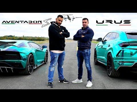 Lamborghini Aventador S vs Urus – DRAG RACE