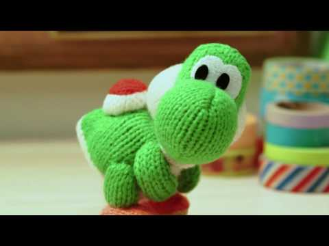 Animation - 3DS - Poochy and Yoshi's Woolly World