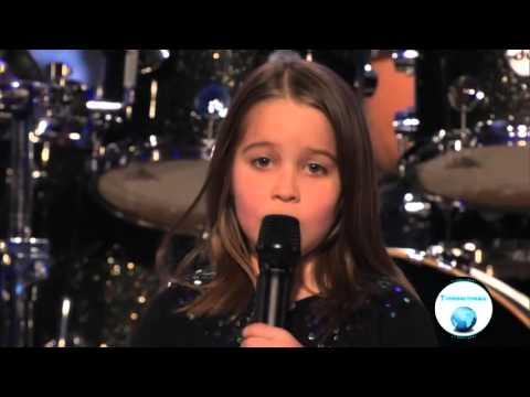 6-Year-Old Aaralyn Screams Her Original Song,