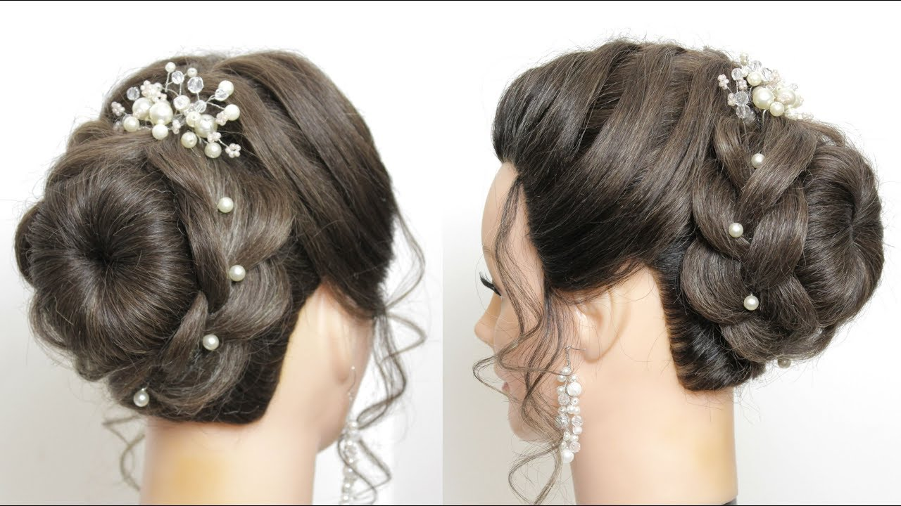 new bridal updo tutorial. wedding hairstyles for long hair