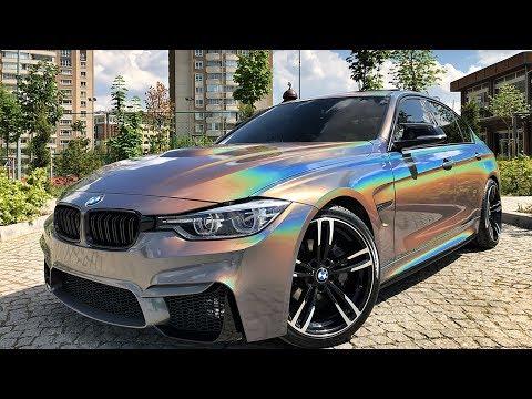 Psychedelic BMW F80 Dönüşüm & Black Chrome Mercedes Vito