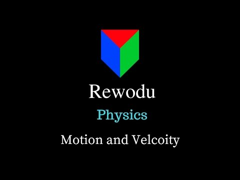 Position, Displacement and Velocity (11.3.1), Motion in a straight line, Class 11 Physics in Hindi