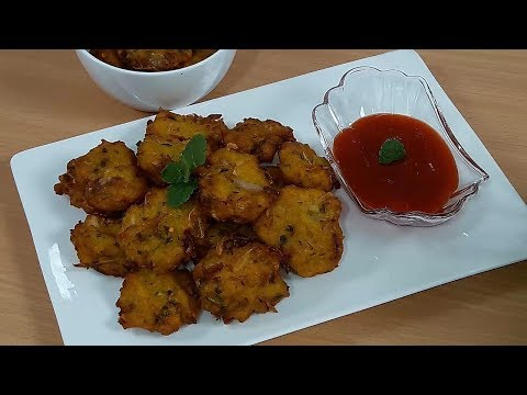 Flattened Rice Pakora   চিড়ার পাকোড়া   Quick & Easy Poha Pakoda Bangla Recipe.