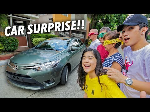 SURPRISING GRANDPARENTS WITH A NEW CAR!! (Emotional) | Ranz and Niana