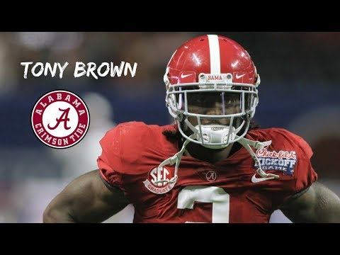 """Tony Brown    """"The Best Trash-Talker In The WORLD""""    Alabama Career Highlights    2014 - 2018"""