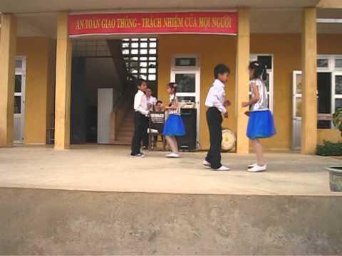 Vũ điệu cha cha cha học sinh Tiểu học Yên Bình- Hữu Lũng- Lạng Sơn