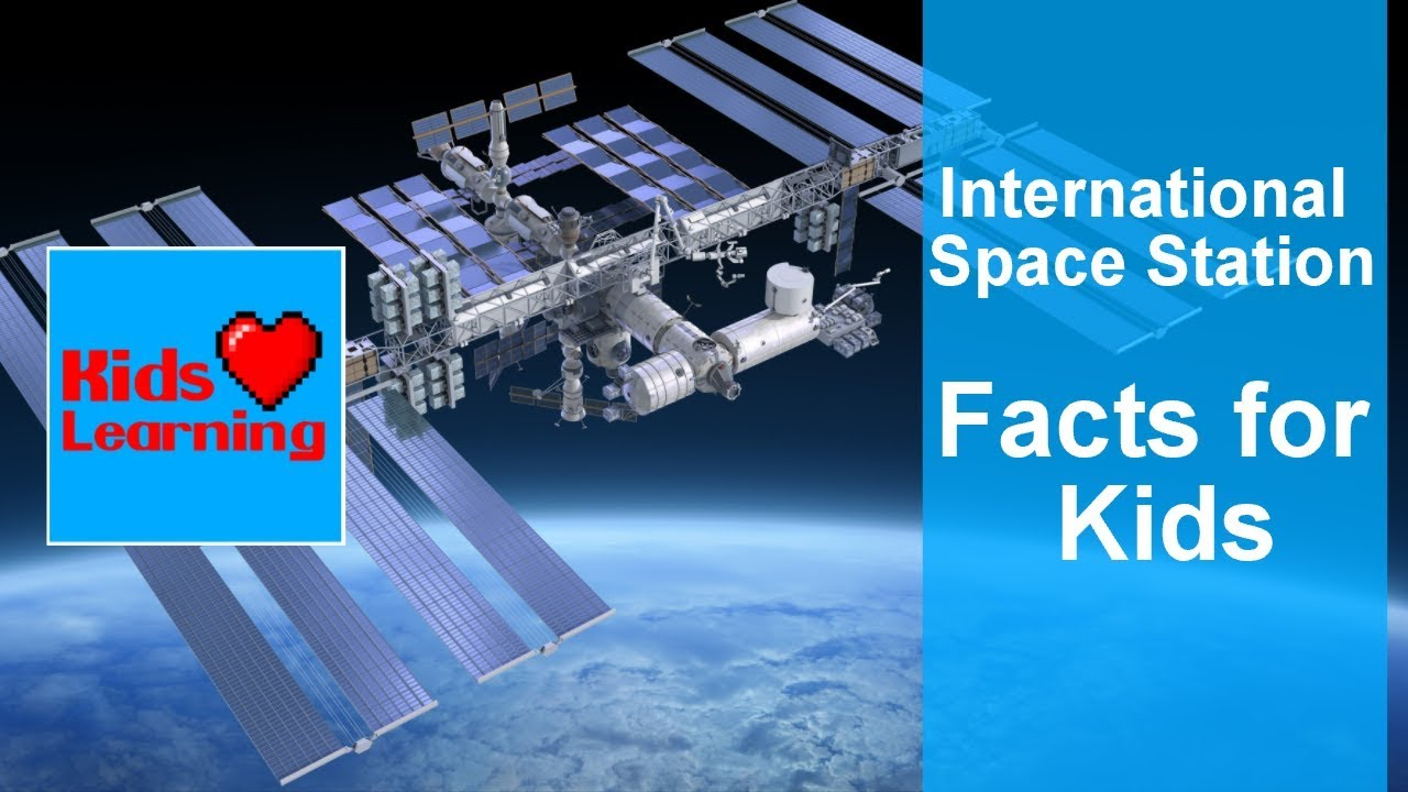International Space Station Facts for Kids! - YouTube