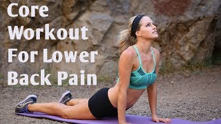 10 Minute Core Workout for Lower Back Pain--Strengthen u0026 Sculpt Your Core Without Pain