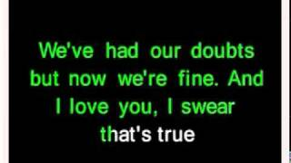 Goodbye my lover- james blunt (karaoke)