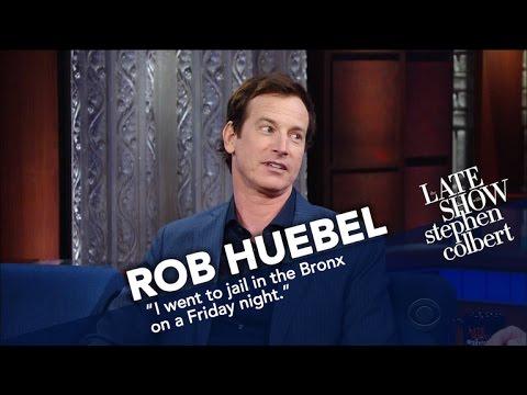 Rob Huebel Got Arrested At Yankee Stadium
