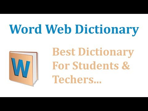 Word web Dictionary For P.C