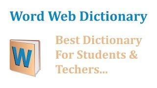 Word web Dictionary For P.C screenshot 5