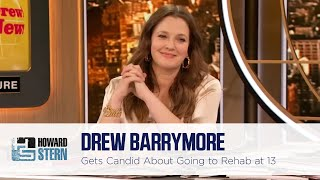 Drew Barrymore Talks Being Sent to a Psychiatric Hospital at 13