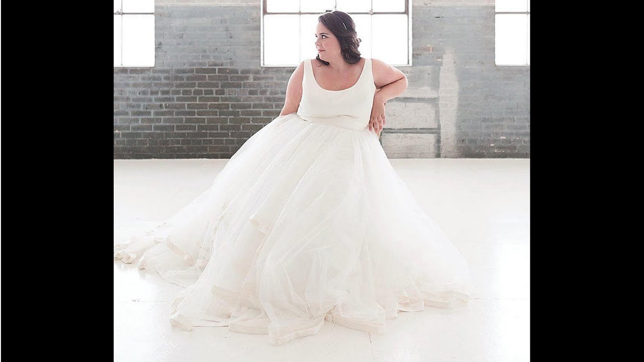 Plus Size Wedding Outfit Cute Wedding Dresses for Plus Size Curvy ...