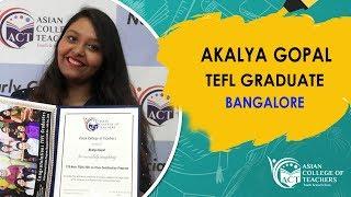 Teacher Training in Bangalore - Teach English as a Foreign Language