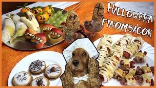 DIY Halloween finomságok | Viszkok Fruzsi