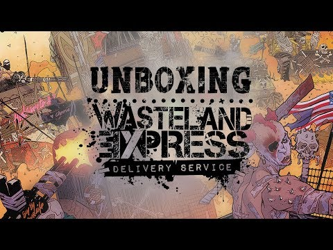 Unboxing Wasteland Express: Dery Service!