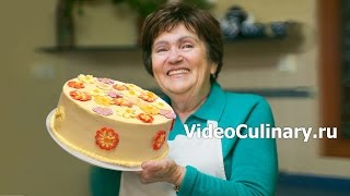 Шоколадный торт Поляна   Рецепт Бабушки Эммы