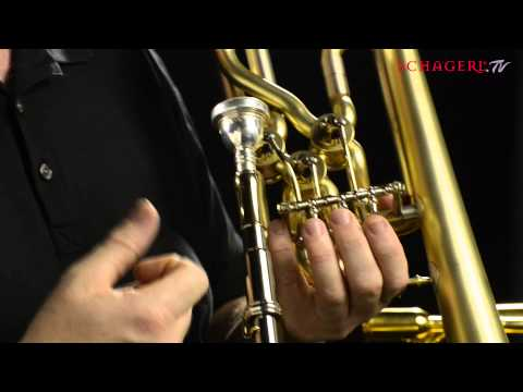 James Morrison talking about the new Schagerl Trombone Model