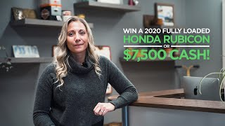 Enter to win a Honda Rubicon or $7,500 CASH - (Simply Request Free Quote)