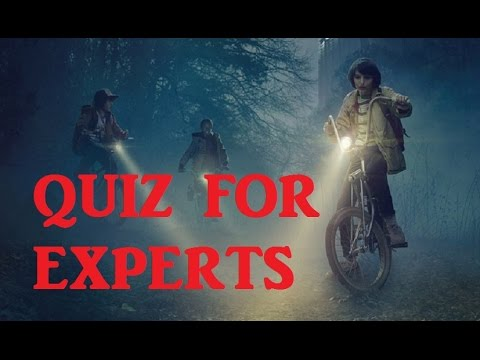 Stranger Things Very Difficult Quiz! - Test your Knowledge on Season 1