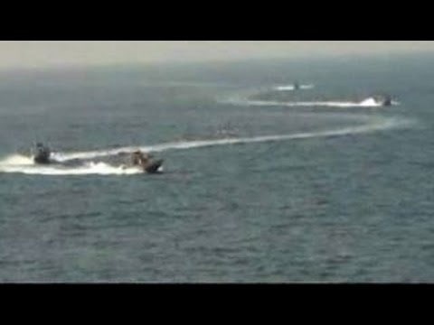 Iranian vessels harass US Navy destroyer in Strait of Hormuz