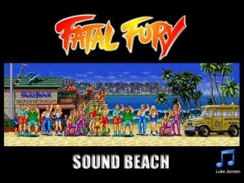 Resultado de imagem para Fatal Fury 1 - sound Beach background