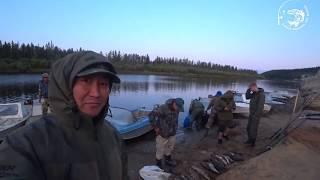 После тушения пожара рыбалка совместно с ПСПЧ МЧС России г. Якутска