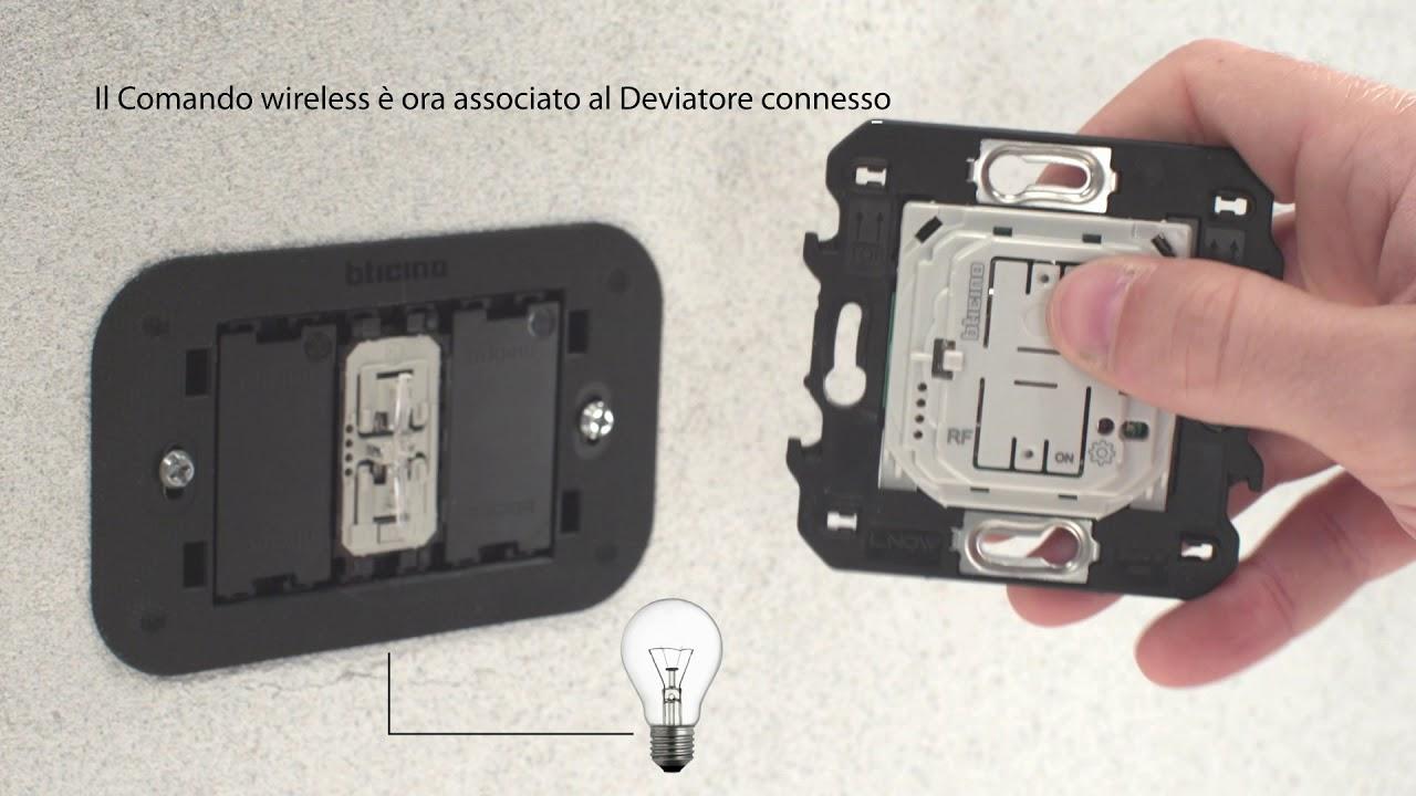 Schema Collegamento Bticino 5860 : Living now with netatmo comandi wireless youtube